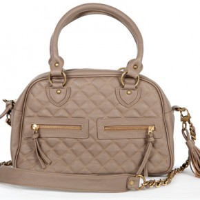 The Bossi bag in fawn, image courtesy of lovetheit.com